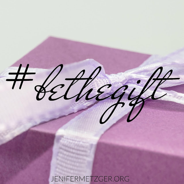 Do something to be the gift to others this holiday season. #BETHEGIFT