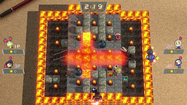 Super Bomberman R imagenes hd