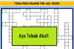 Teka-Teki Silang (TTS) Materi program Ms. Excel