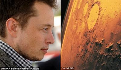 pessoas em Marte