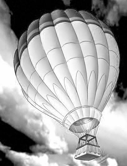 gambar balon udara