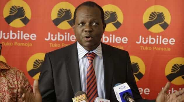 Jubilee party secretary General Raphael Tuju photo