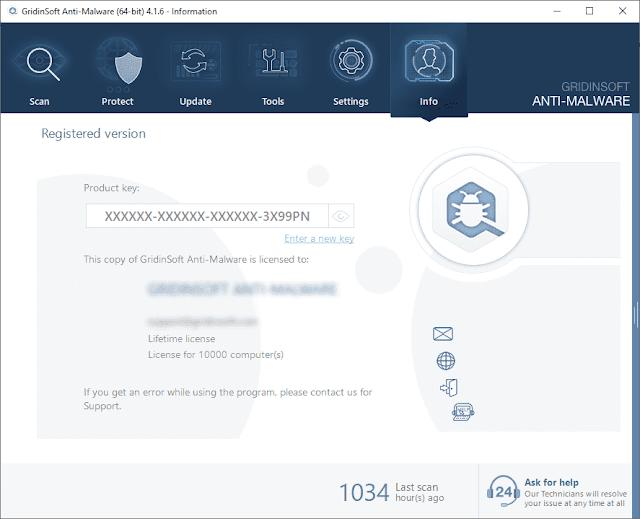Screenshot GridinSoft Anti-Malware 4.1.6 Full Version