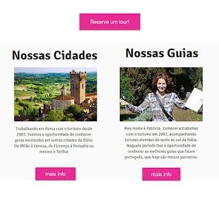 Tours português na Italia