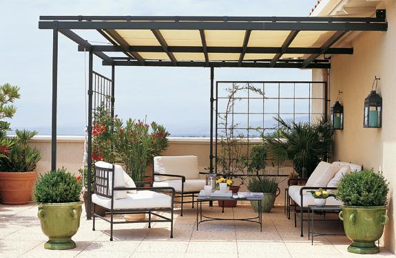 5 formas para techar un patio pequeño | Metacrilatos