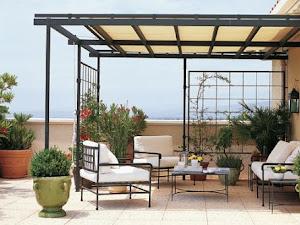 5 formas para techar un patio pequeño