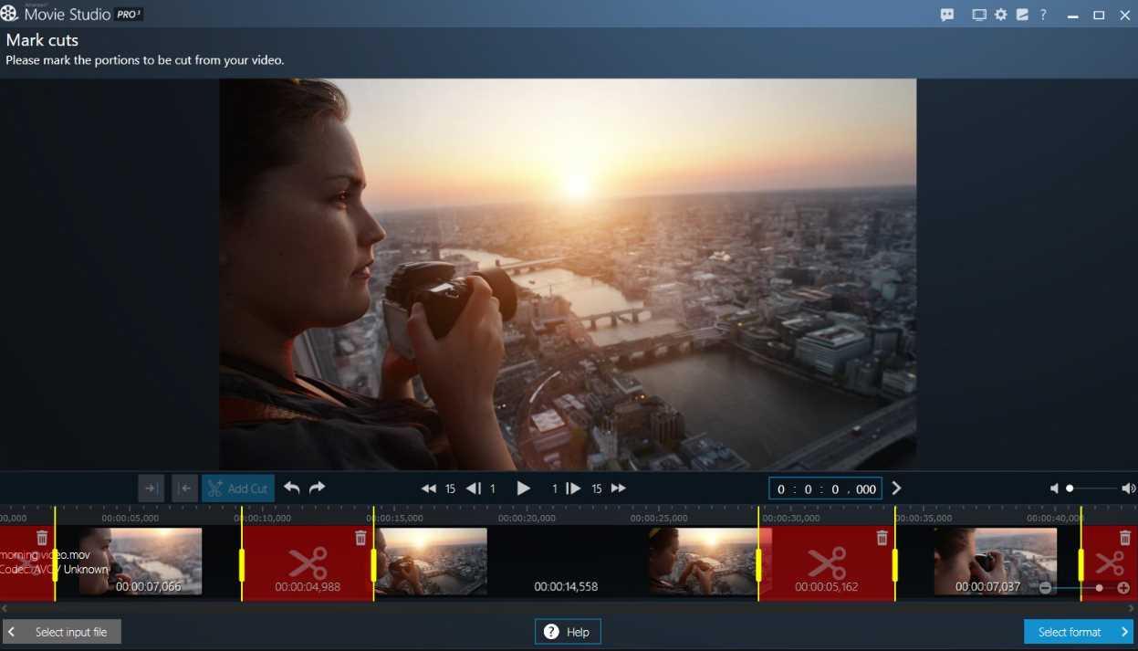 Ashampoo Movie Studio Pro 3.0.3 capture