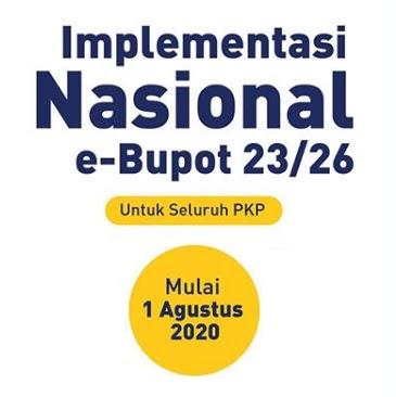 Serentak Nasional, 1 Agustus 2020 Implementasi e-Bupot 23/26 Seluruh PKP