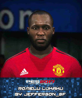 PES 2017 Faces Romelu Lukaku by FaceEditor Jefferson_SF