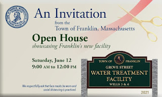 Open house - Grove Street Water Treatment Plant - June 12