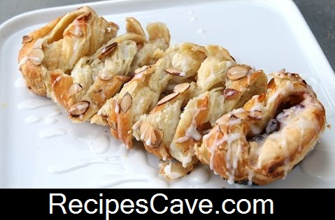 Cranberry Cream Cheese Braid Recipe