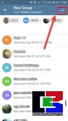 tips membuat grup di aplikasi telegram android terbaru