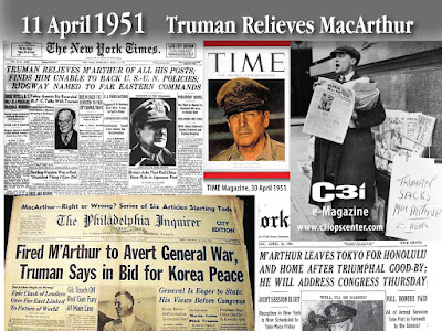 65 years ago today - Truman fires MacArthur
