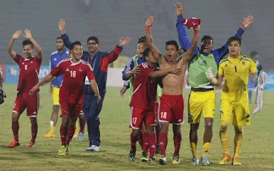 Nepal becomes south Asian football champion beating India 2-1