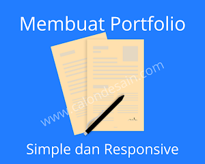 Membuat Portfolio Simple dan Responsive