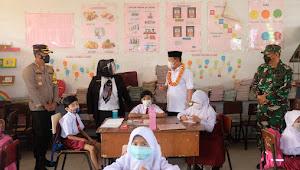 Plt.Walikota Tanjungbalai Monitoring PTM Terbatas SD Hingga SMA Sederajat
