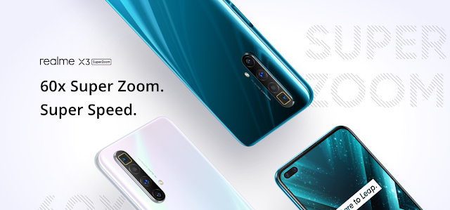 Realme X3 SuperZoom (Arctic White,12GB+256GB)