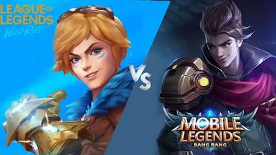 Perbedaan Mobile Legends Dan LoL : Wild Rift