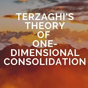 Terzaghi's Theory of One-Dimensional Consolidation