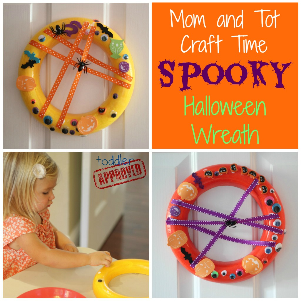 Halloween Crafts And Decorations: Toddler Approved!: Mom And Tot Craft Time: Spooky