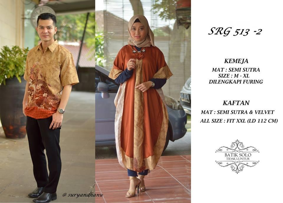Baju Batik Couple Size Jumbo Srg 513 Baju Gamis Couple Ukuran