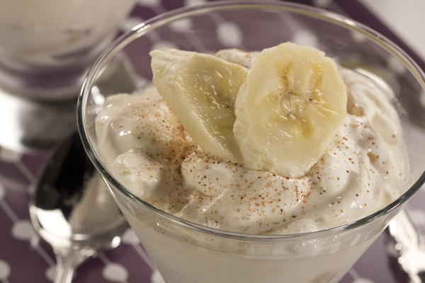 Low Calorie Banana Joy Dessert