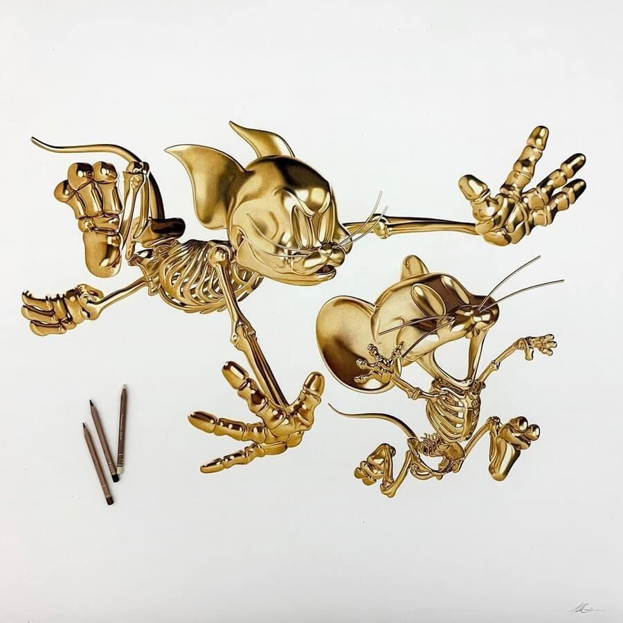06-Tom-and-Jerry-Alessandro-Paglia-www-designstack-co