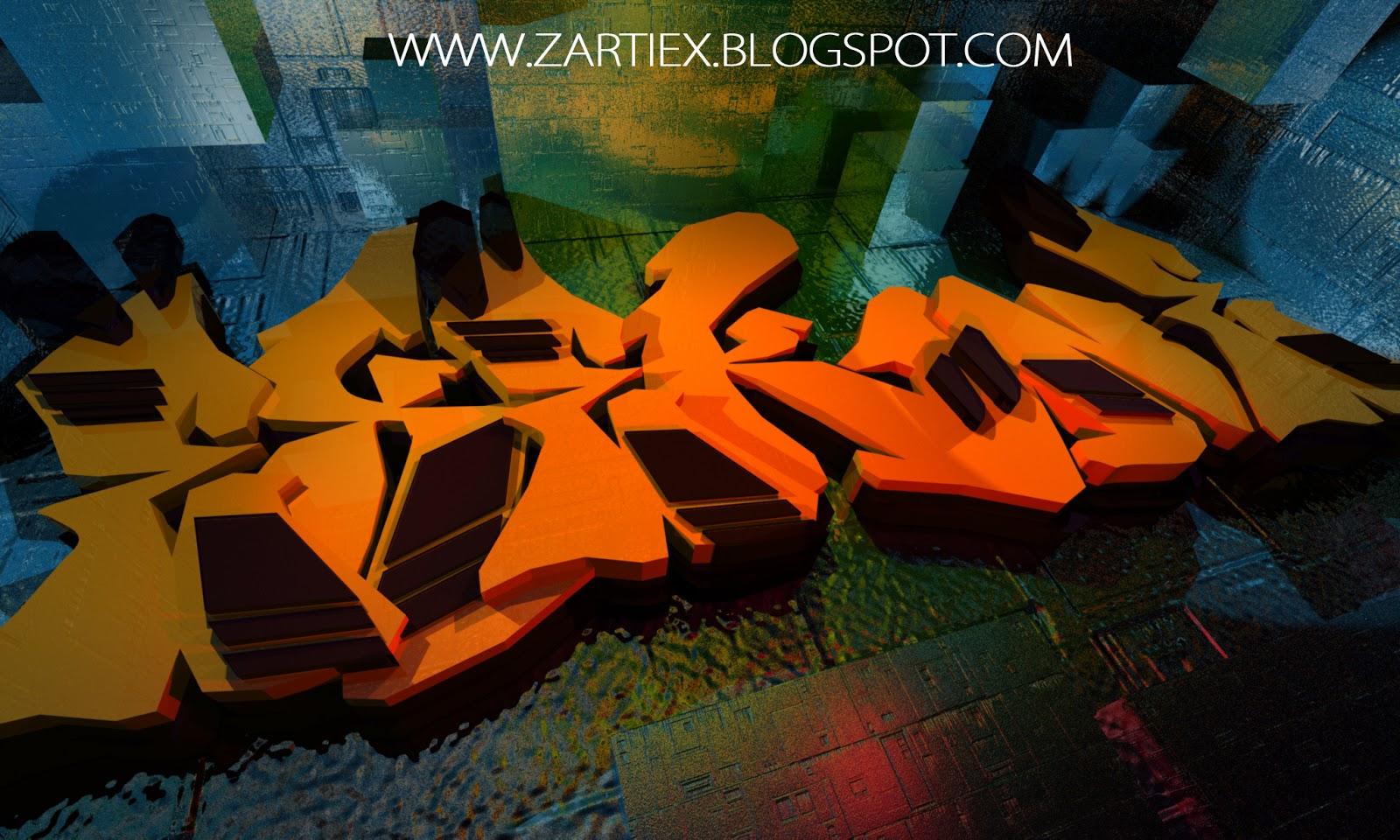 Alphabet U Wallpapers 3d Graffitis De Madrid Nuevas Letras De Graffiti En 3d