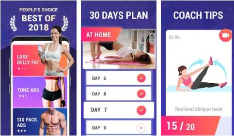 lose belly fat in 30 days flat stomach app