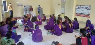 आशाओं का आठ दिवसीय प्रशिक्षण आयोजित