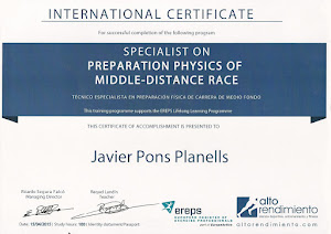 INTERNATIONAL CERTIFICATE SPECIALIST ON PREPARATION PHYSICS OF MIDDLE DISTANCE RACE