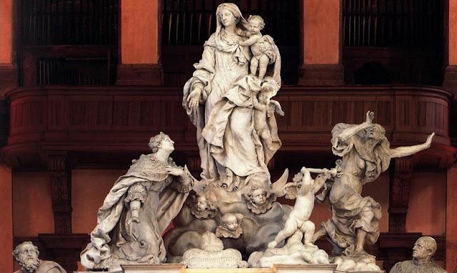 Altar na Basílica de Santa Maria della Salute