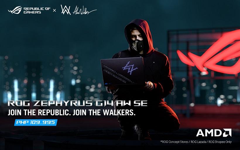 ROG Zephyrus G14 Alan Walker SE Harmonizes Tech and Music, Now Available