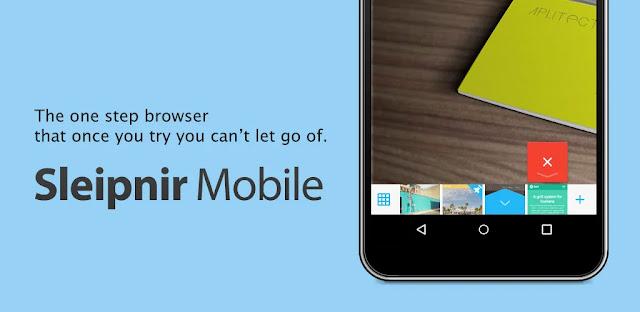 تنزيل متصفح  Sleipnir Mobile - Web Browser  - متصفح ويب حديث ومتقدم لنظام الاندرويد