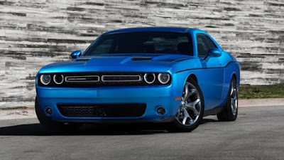 Dodge Challenger GT blue image collection