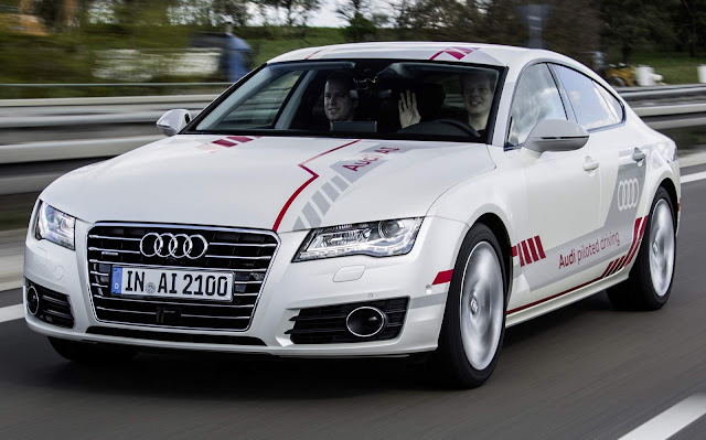 Audi A7 autônomo: test-drive será realizado em Autobahn
