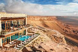 Uma luxuosa aventura de férias no deserto do Negev