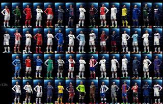 Kumpulan Kits PES 2016 Terbaru Musim 2016/2017