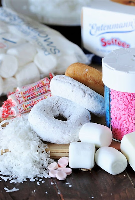 Easter Bunny Butt Doughnuts Ingredients Image