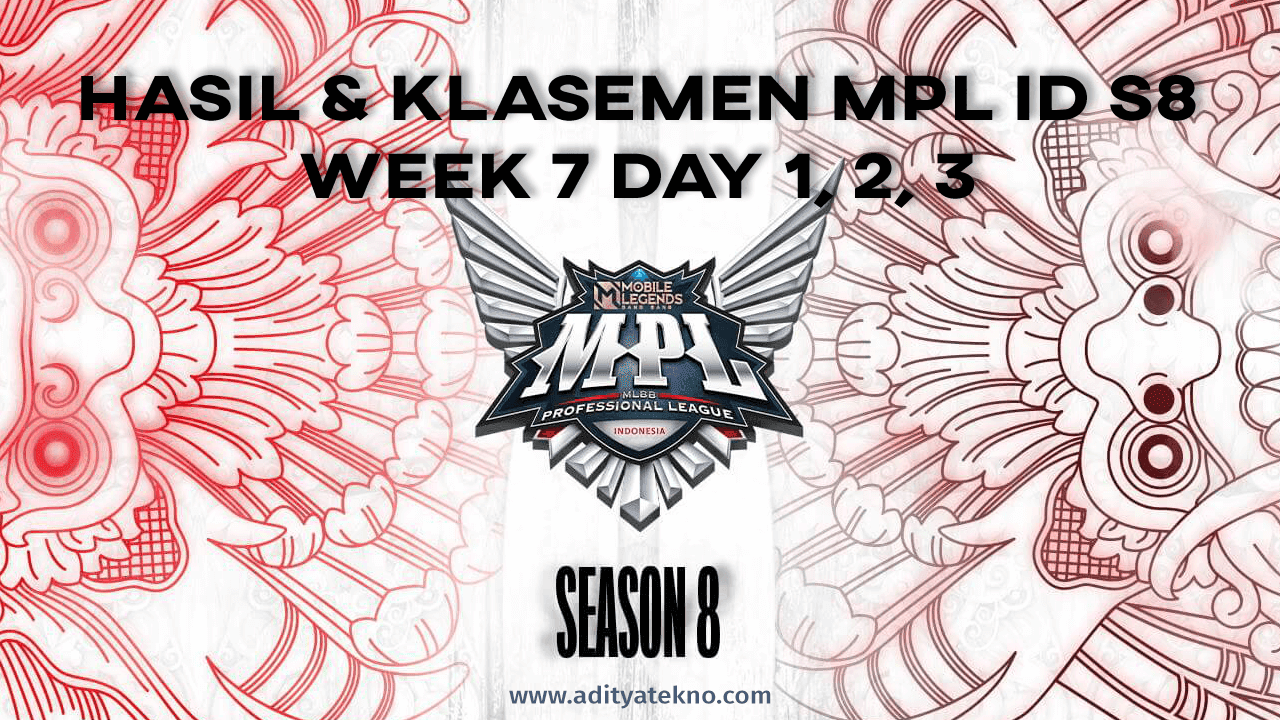 Hasil dan Klasemen MPL ID Season 8 Week 7: RRQ Hoshi Geser AE dari Puncak Klasemen