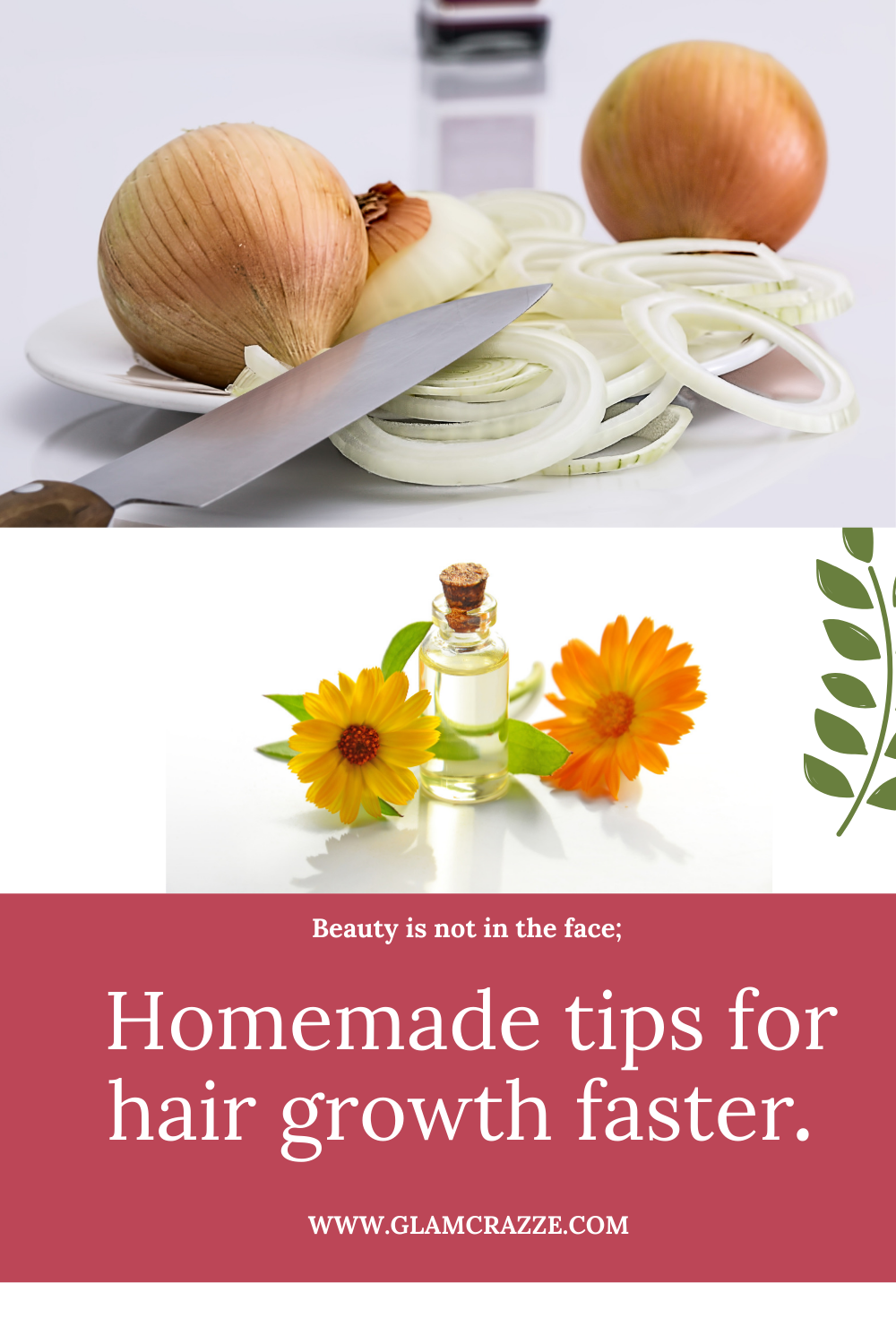 Homemade tips for hair growth faster with onion