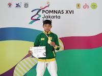 Mantap..!! Mahasiswa ITERA Sumbangkan Emas Pertama untuk Lampung di Pomnas XVI