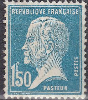 France Chemist Louis Pasteur 1.50F