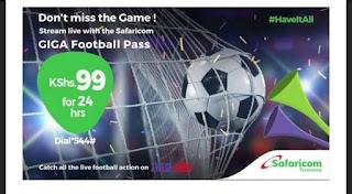 Safaricom Giga football pass