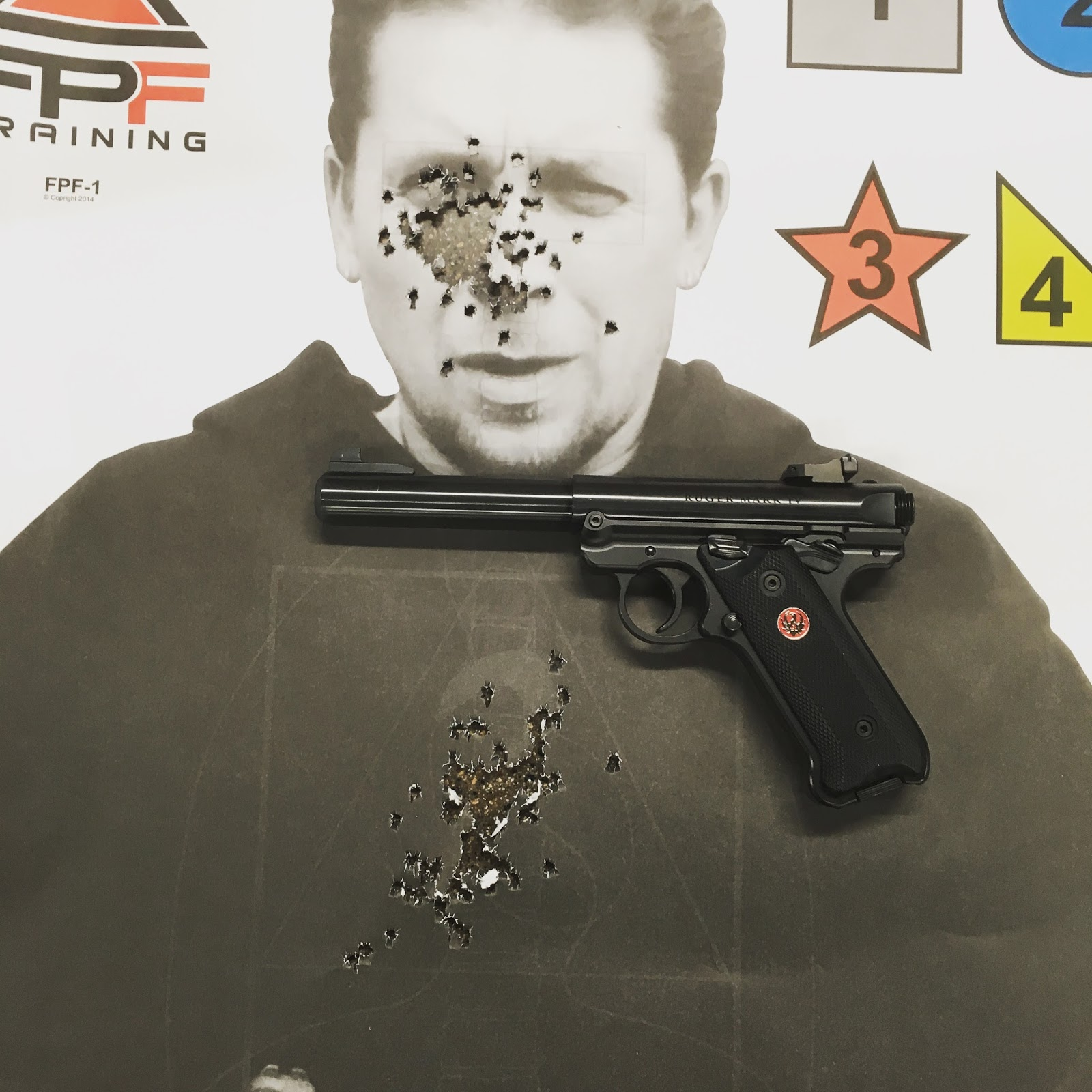 The loctite on the front sight held fine two hundred rounds with no loosening of the screw howver the rear sight assembly kept drifting left and had to be