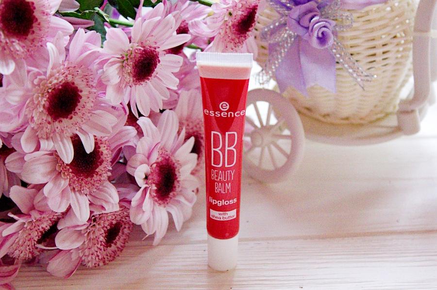 Блеск-бальзам для губ ESSENCE BB Beauty Balm Lipgloss в оттенке #05 heartbreaker / обзор, отзывы, фото