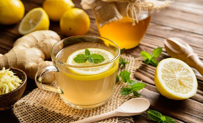 Miel y limón para el dolor de garganta