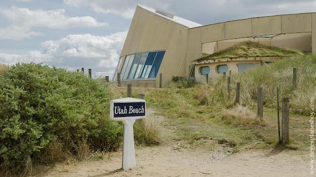 Utah Beach playas desembarco Normandía recorrido turismo