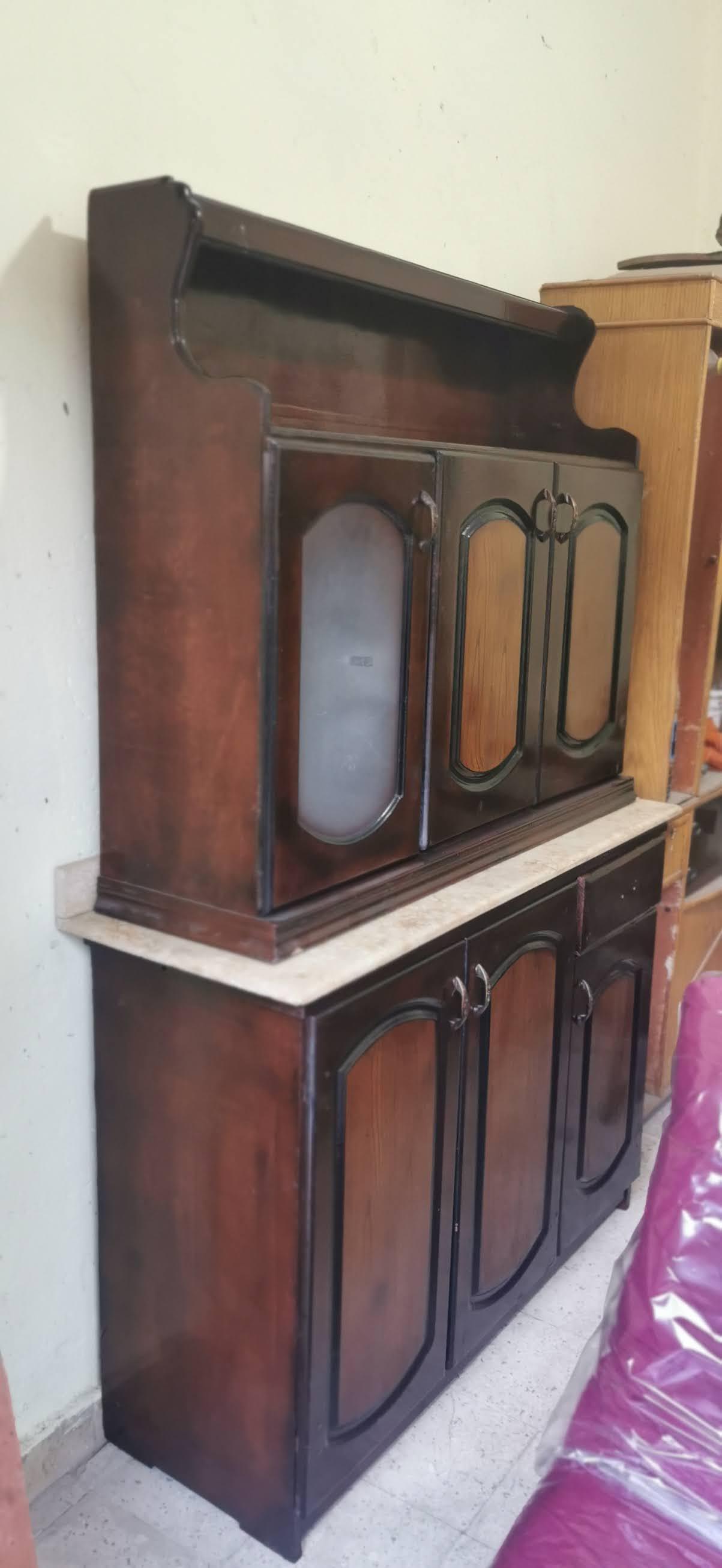 مطبخ خشب مستعمل للبيع 4