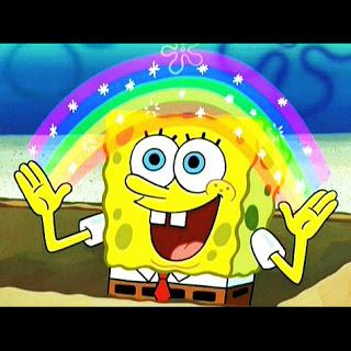 polosan meme spongebob bacot  dan imajinasi